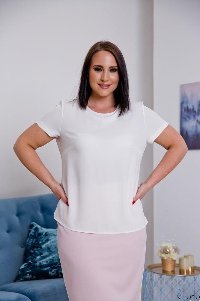 Ecru Blouse LEXY Plus Size