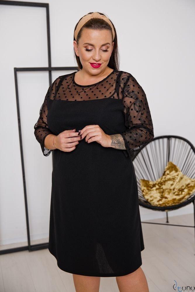 Black Dress SACRIMA Plus Size Design 2
