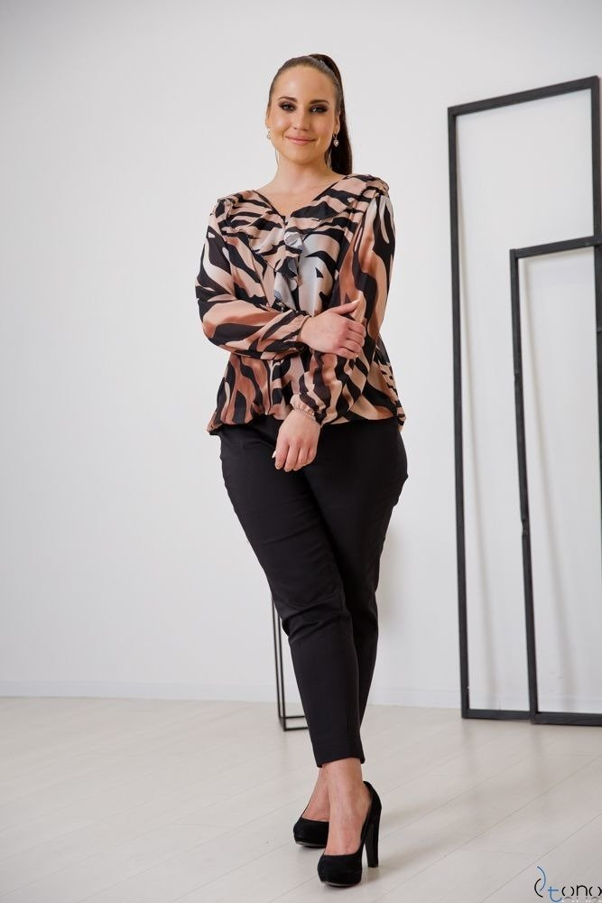 Blouse FONDATA Plus Size Design 1