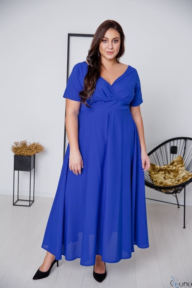 Cornflower Dress MIRIAM Plus Size
