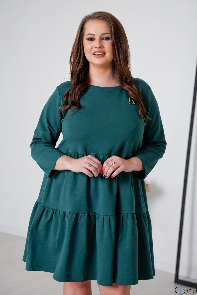 Green Dress SORRINA Plus Size