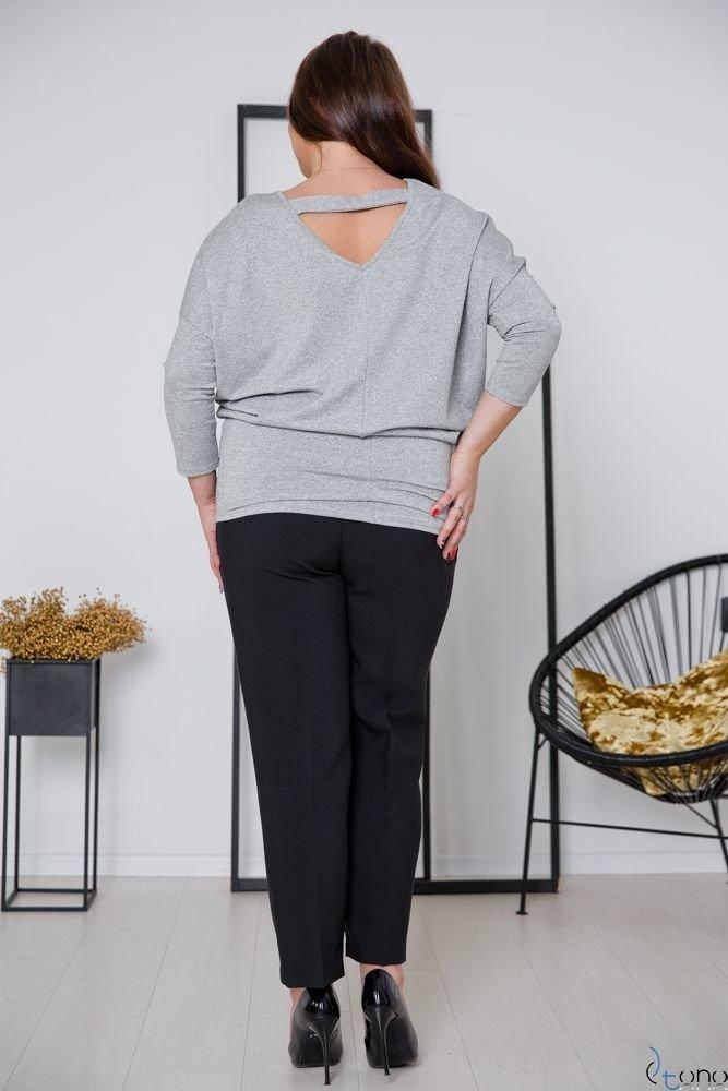 Grey Tunic MOCCI Plus Size