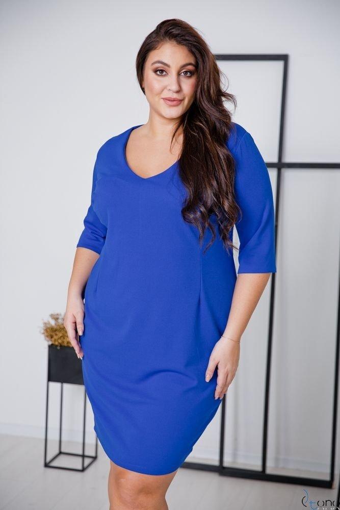 Cornflower Dress AZURRA Plus Size