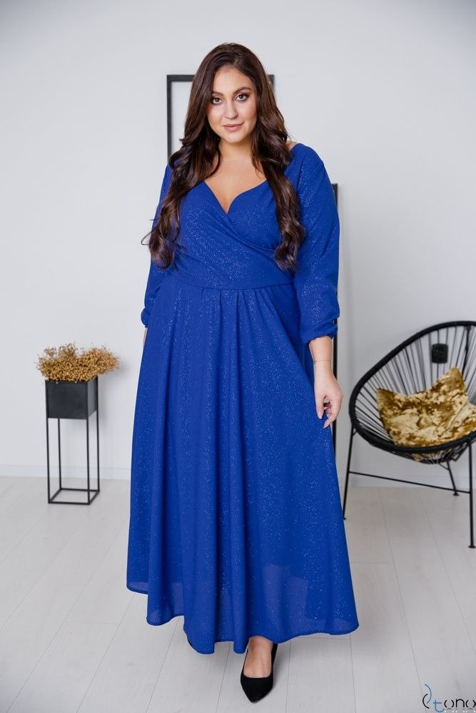 Cornflower Dress LUMISSA Plus Size
