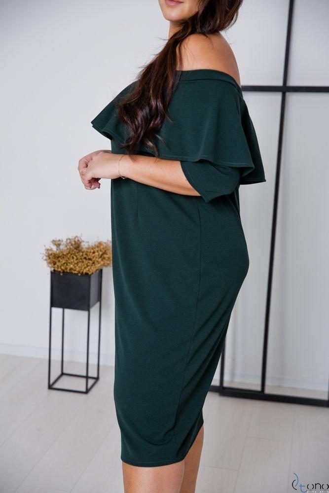 Green Dress ALBETTA Plus Size