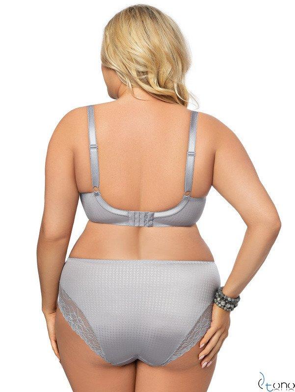 K464 grey panties EDELWEISS