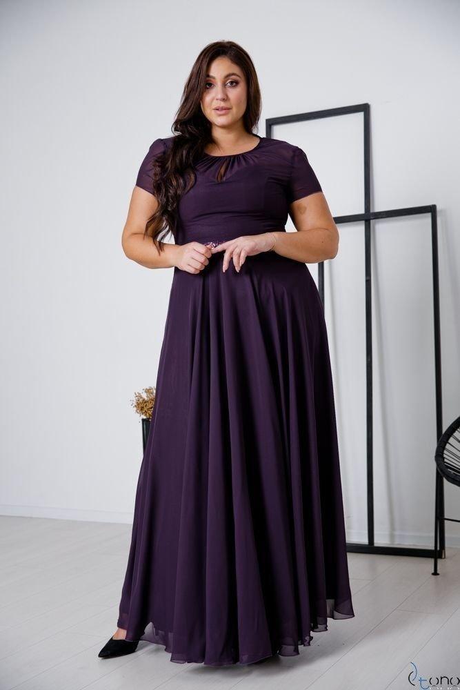 Purple Dress FORTALES Plus Size