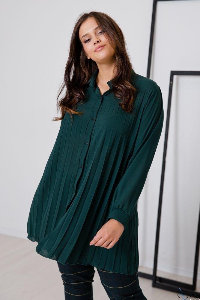 Zielona Koszula PASSADIA Plus Size Koszule ✅ TONO  0sw98