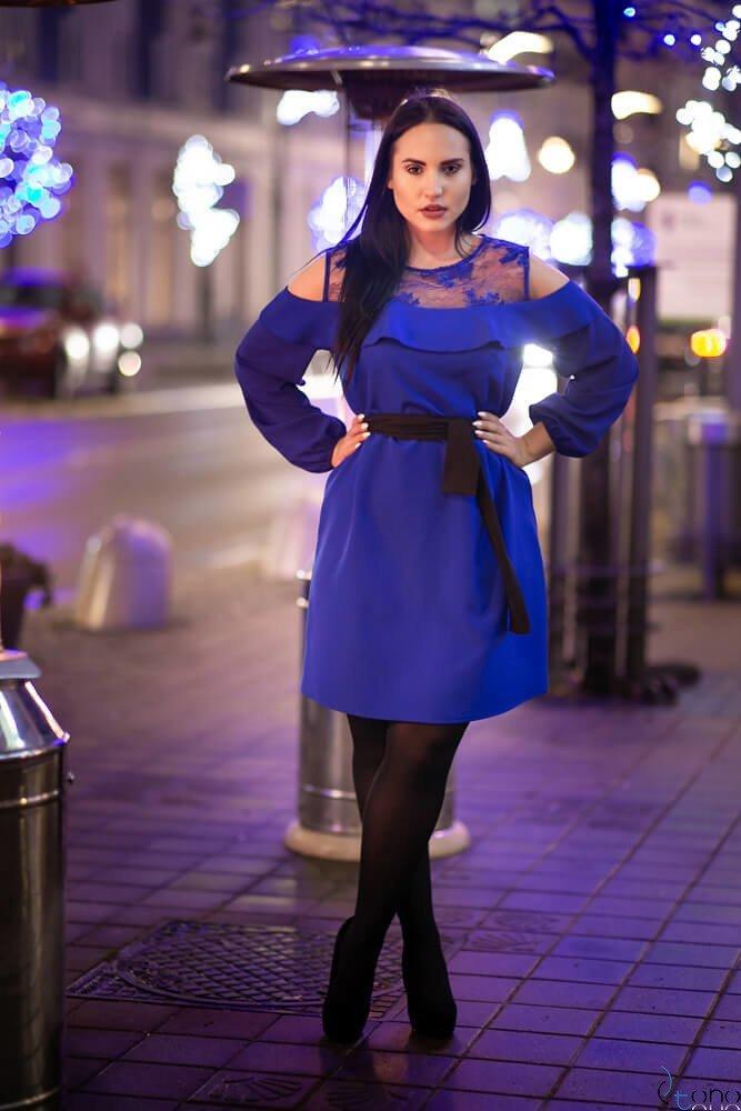 6b9ba7773c Chabrowa Sukienka INEZ Plus Size ✅ darmowy odbiór w punckie i zwrot ...