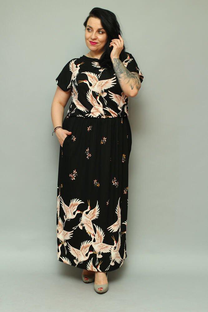 5c858acf Sukienka GINA Unikalna Maxi Letnia Size Plus