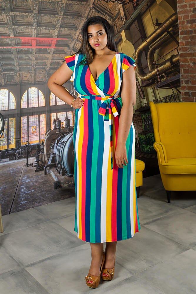 eed10e59d9 Sukienka MALIKA Plus Size ✅ darmowy odbiór w punckie i zwrot produktu