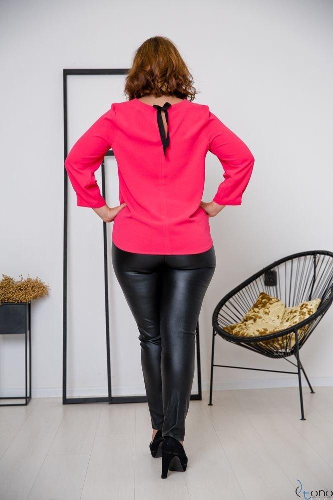 Amarantowa Bluzka AUROSIA Plus Size