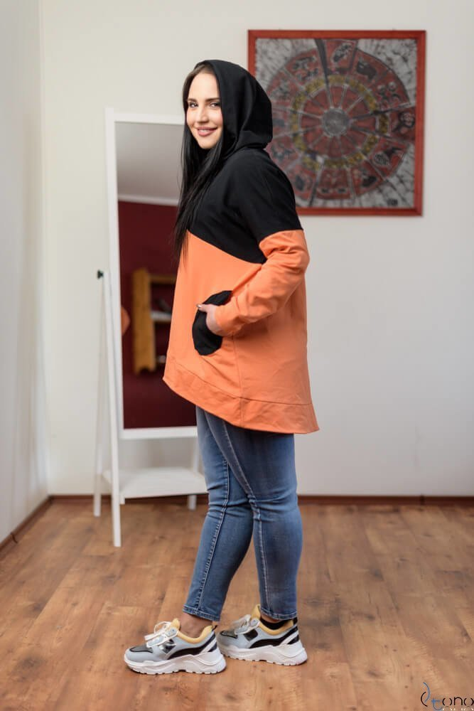 Bluza GEBER Plus Size Wzór 2