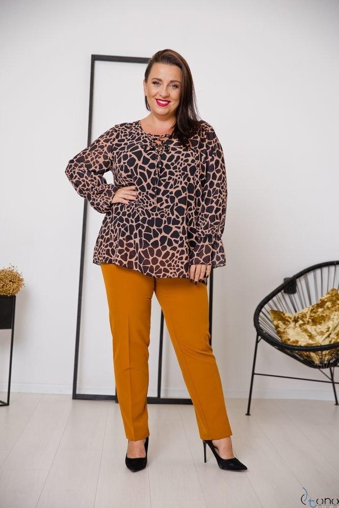 Bluzka COTELES Plus Size Wzór 1