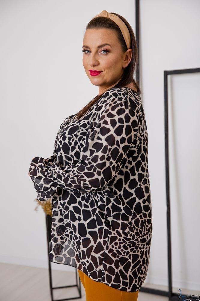 Bluzka COTELES Plus Size Wzór 4