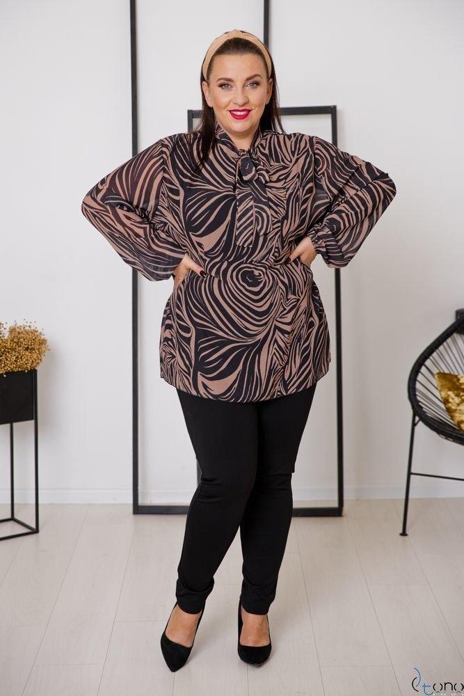 Bluzka MAFERA Plus Size Wzór 1