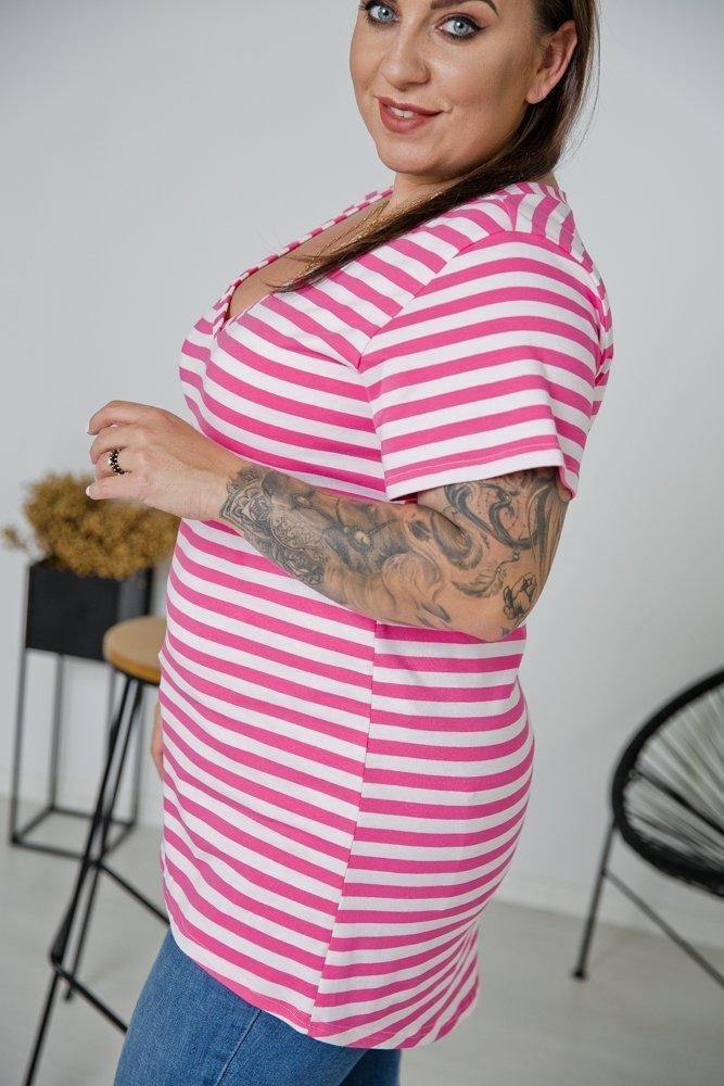 Bluzka MARINE Plus Size Wzór 2