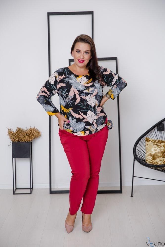 Bluzka WINSLEY Plus Size Wzór 1