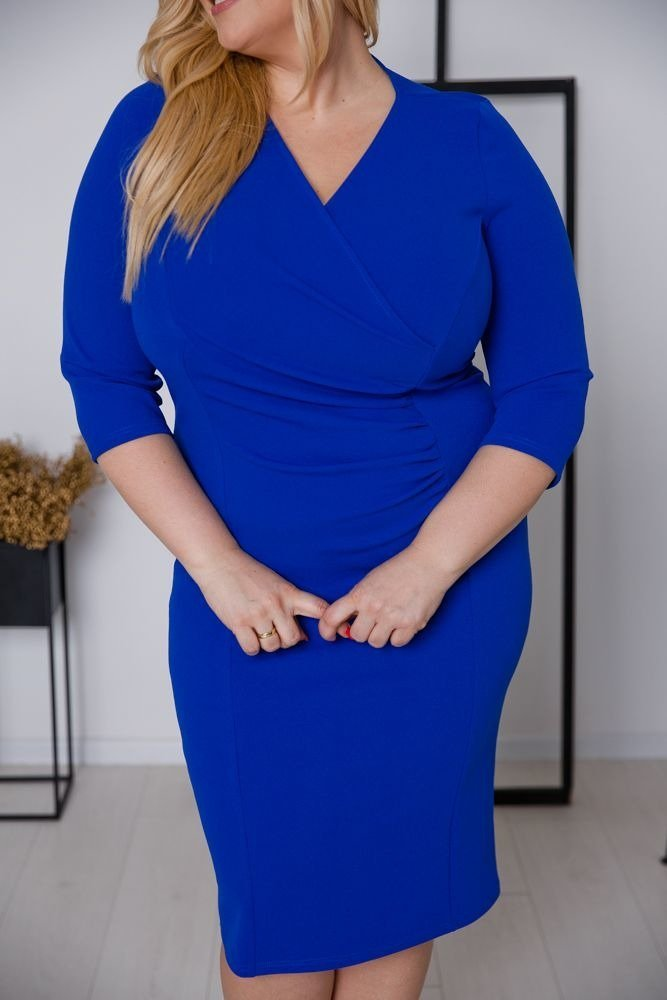 Chabrowa Sukienka DEFINA Plus Size
