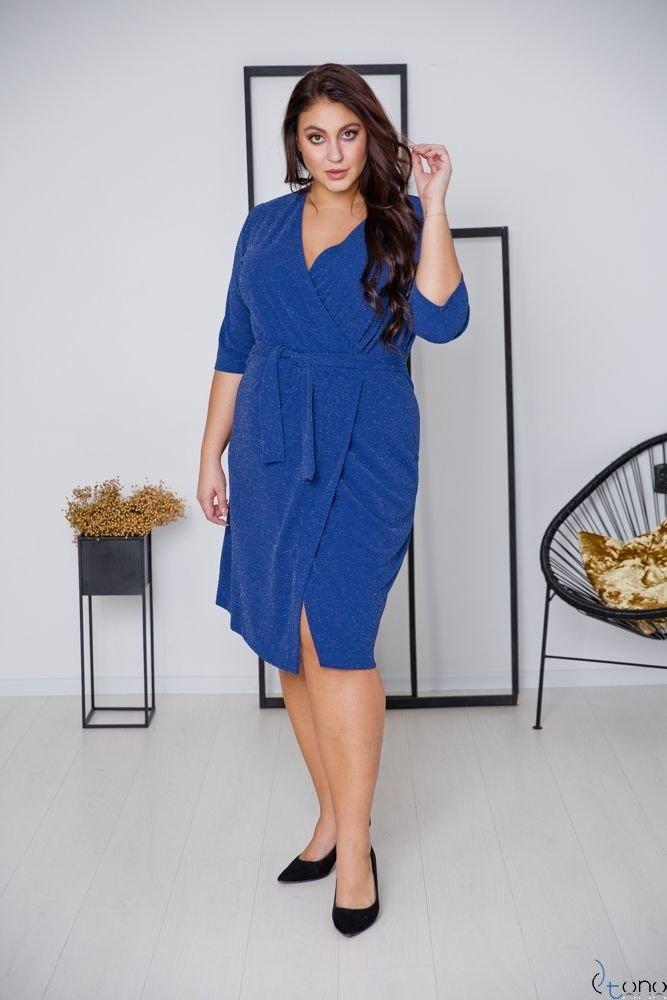 Chabrowa Sukienka  SOMIER Plus Size