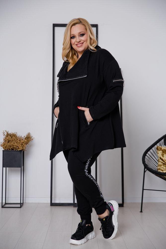 Czarna Bluza ONEA Plus Size