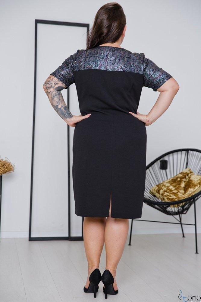 Czarna Sukienka BELETT Plus Size