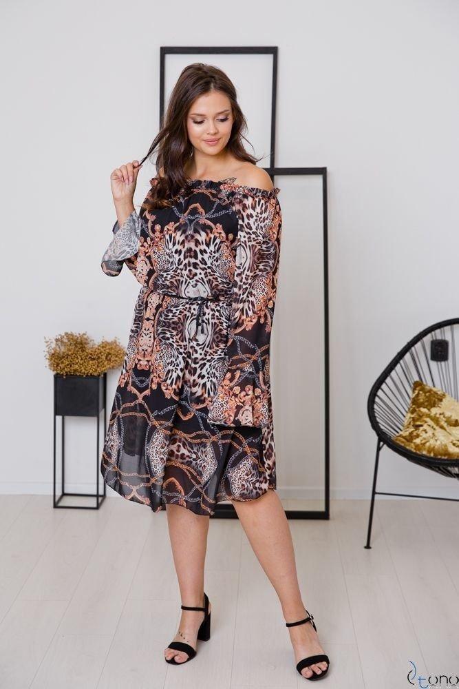 Sukienka ESTREMMA Plus Size Wzór 1