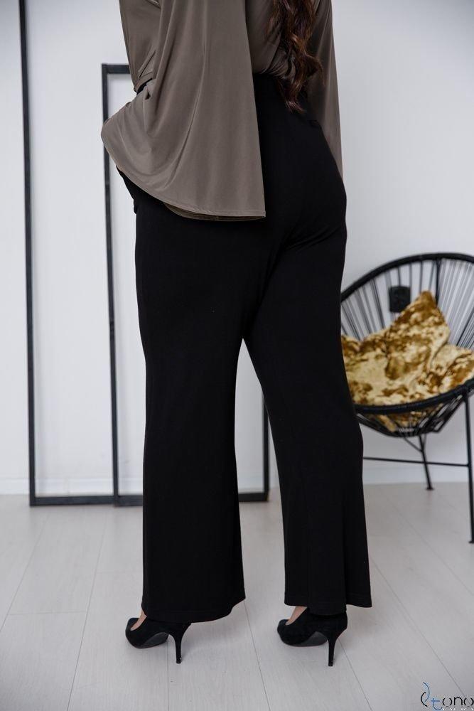 Czarne Spodnie SOMFER Plus Size