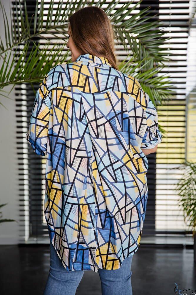 Koszula CREMMA Plus Size Wzór 2