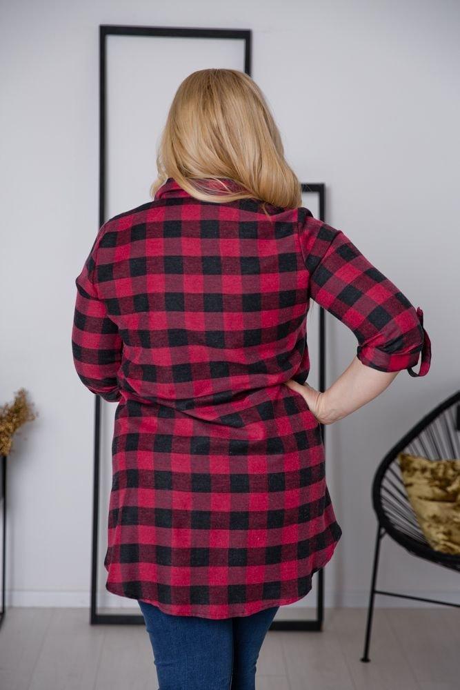 Koszula FLANEL Plus Size Wzór 8