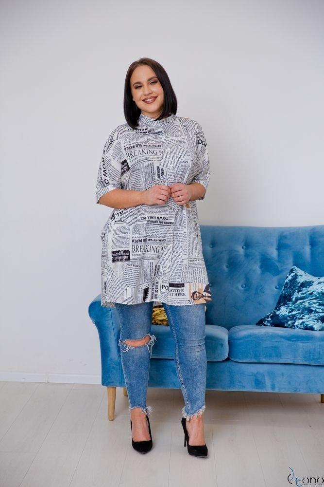 Koszula STAMP Plus Size Wzór 2