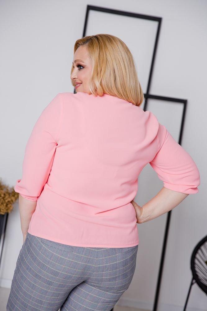 Łososiowa Bluzka BONITA Plus Size