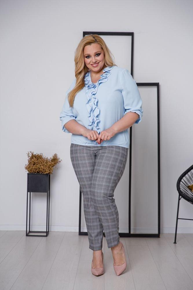 Niebieska Bluzka BONITA Plus Size