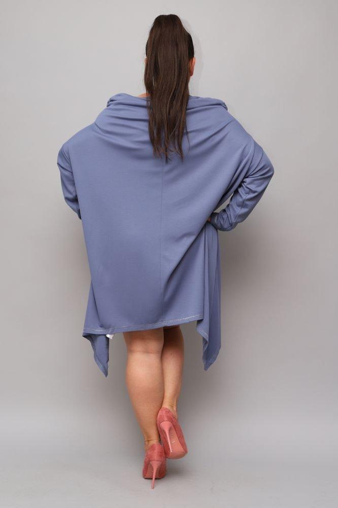 Niebieska Tunika SALAMA Plus Size