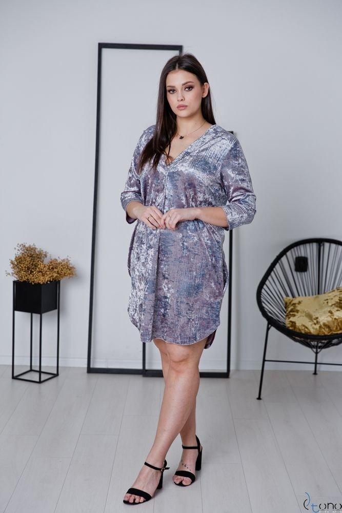 Różowa Tunika MARMARIS Plus Size