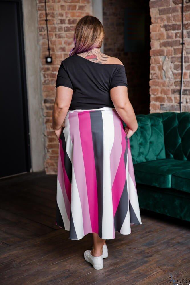 Spódnica RAYAS Plus Size Wzór 1