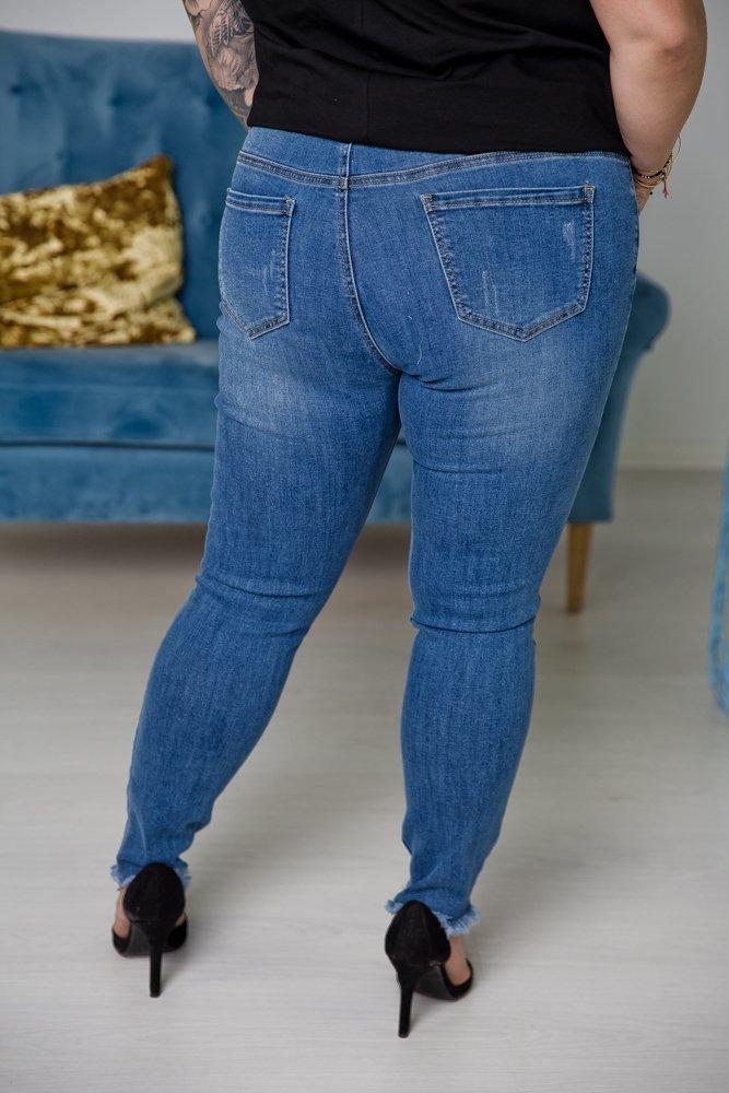 Spodnie Jeansowe GODI Plus Size