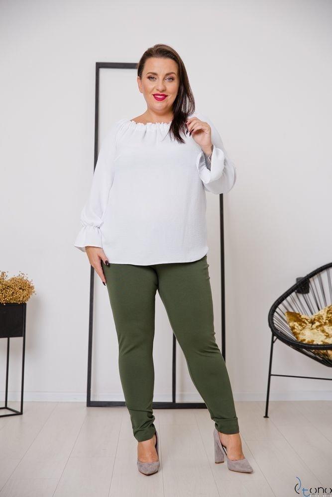 Spodnie MIRELLA Khaki Plus Size