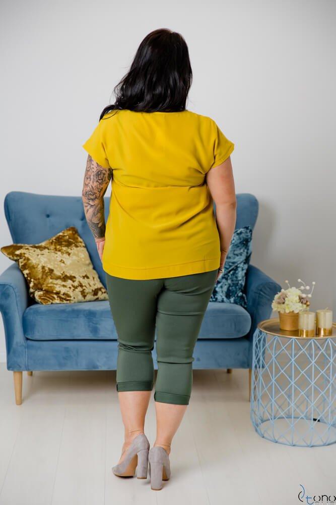 Spodnie VOLAR Khaki Plus Size