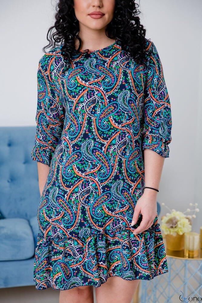 Sukienka CAPRI Plus Size Wzór 4