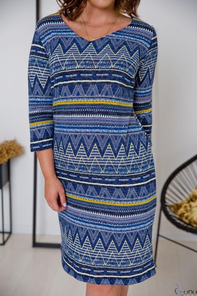 Sukienka DAFNY Plus Size Wzór 3