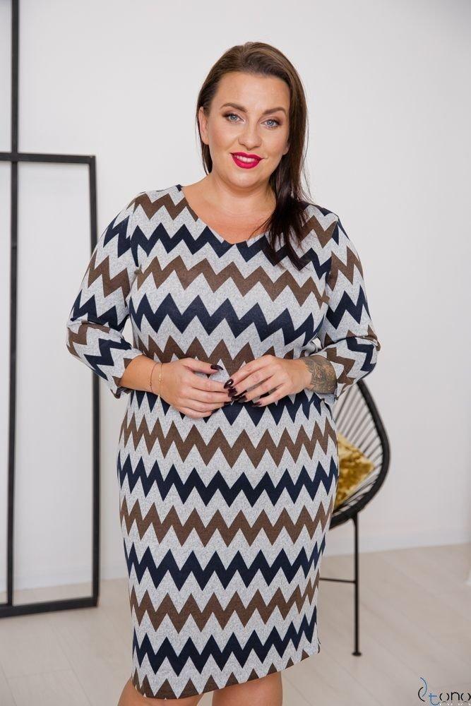 Sukienka DAFNY Plus Size Wzór 9