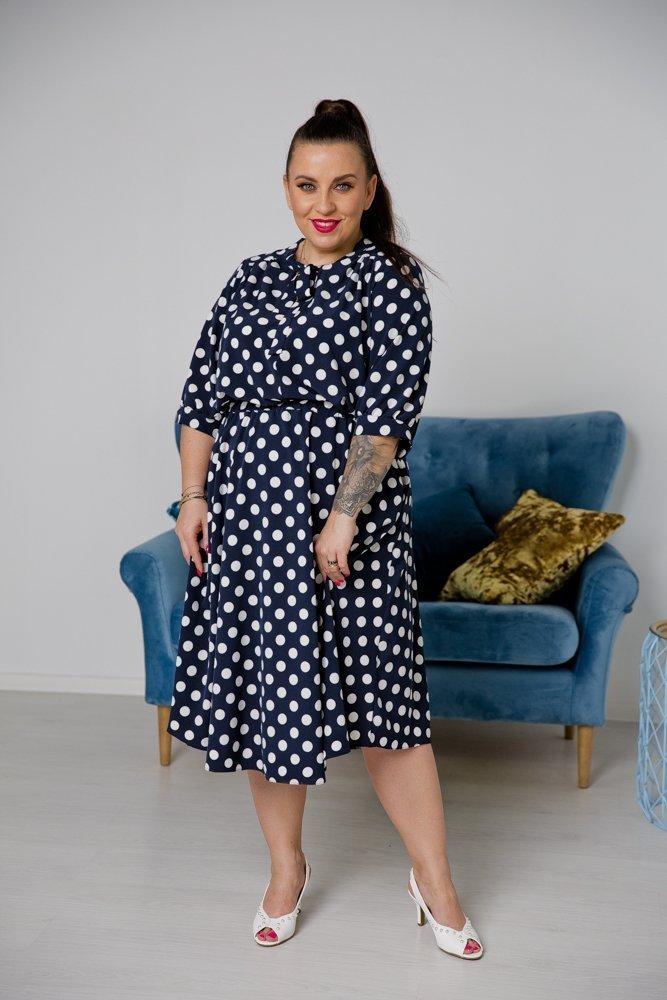 Sukienka ELEGIS Plus Size Wzór 2