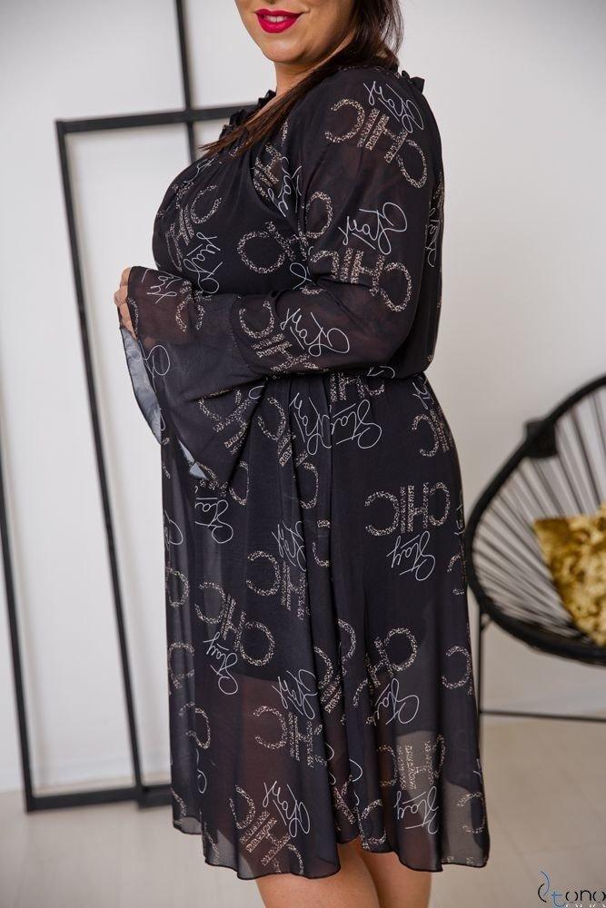 Sukienka ESTREMMA Plus Size Wzór 5