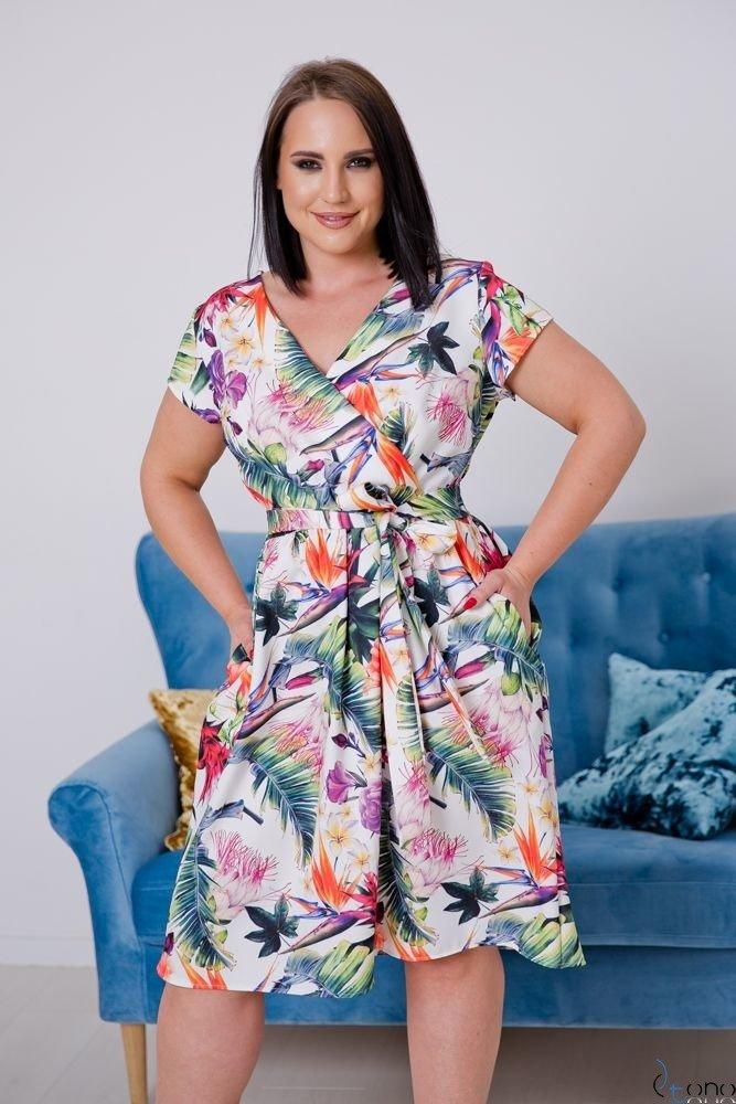 Sukienka EUFORIA Plus Size Wzór 2