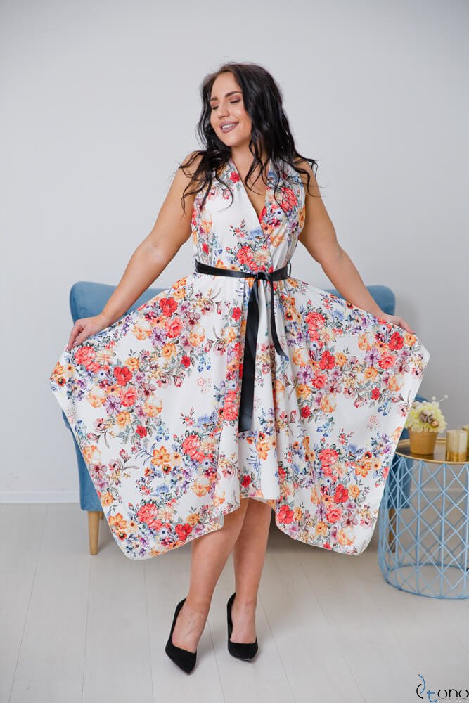 Sukienka FAVITA Plus Size Wzór 1