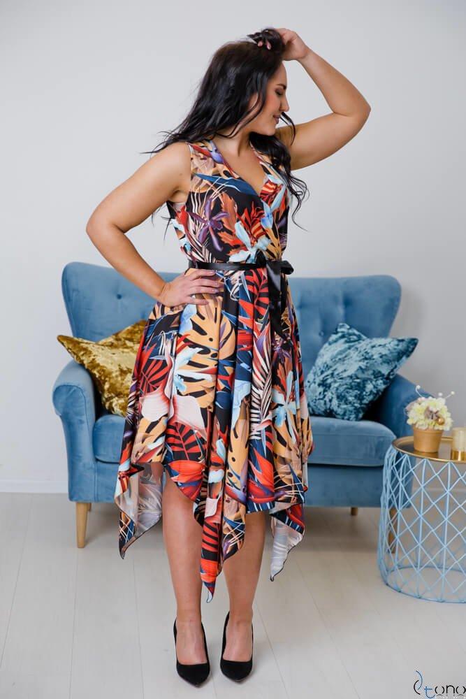 Sukienka FAVITA Plus Size Wzór 3
