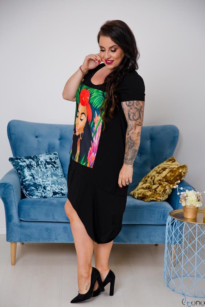Sukienka FELICCIA Plus Size Wzór 2