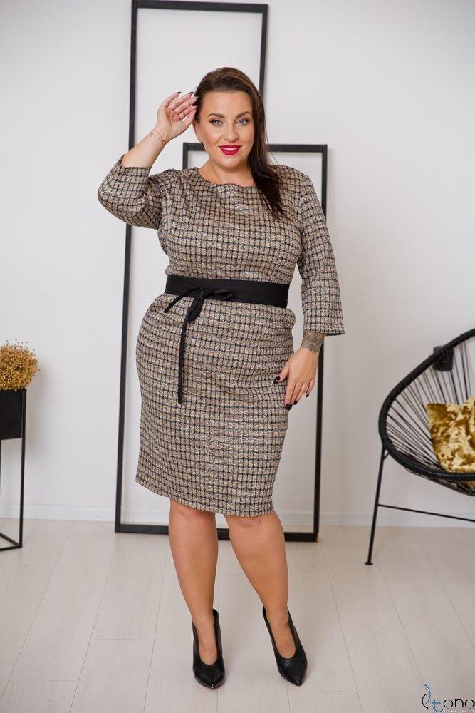 Sukienka LARIZ Plus Size Wzór 2