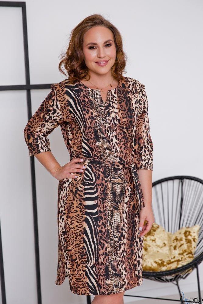 Sukienka LAVAL Plus Size Wzór 1